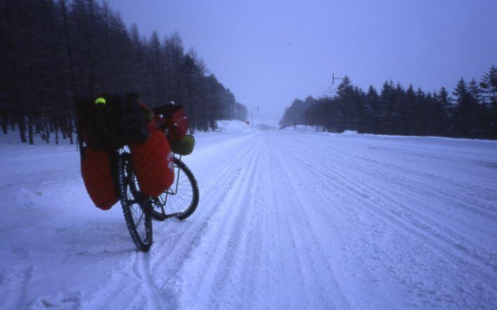 冬の北海道・美幌峠