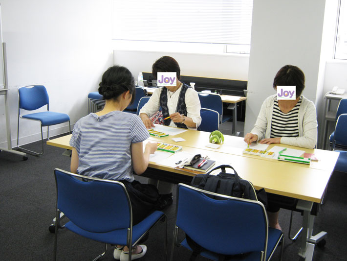おかやま西川原プラザ教室内の写真