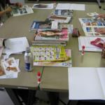 岡山市の心理カウンセラー養成スクール ジョイカウンセリングスクール コラージュ療法 講座風景