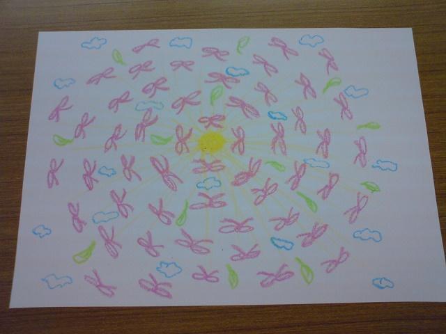 絵画療法 アートセラピー 自由画 2-1