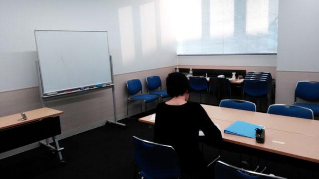 教室内の受講生の様子